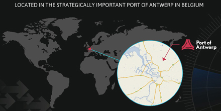 Strategically located in Port of Antwerp, Red Star Forwarding